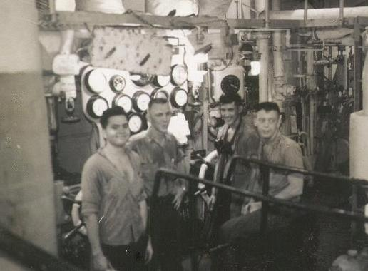 Engine Room 1954