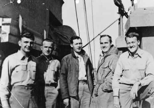 Boat Group Officers 1945