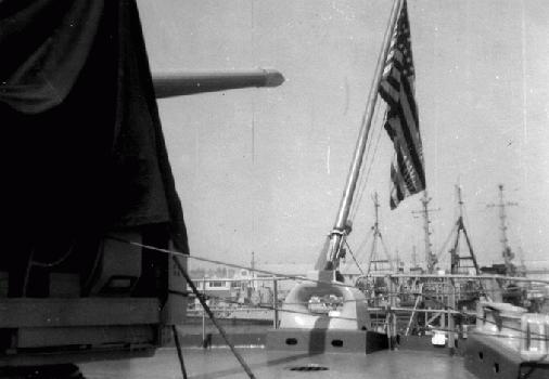 Stern View, Naval Shipyard Pearl Harbor 1956