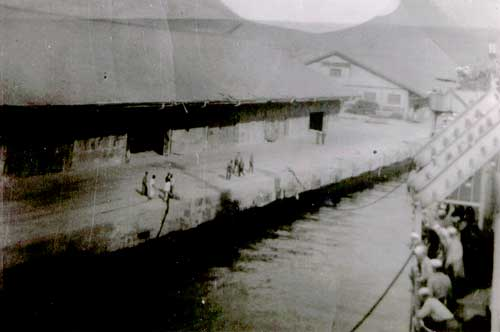 Docking In Pusan, April, 1951